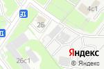 Схема проезда до компании Домаск в Москве