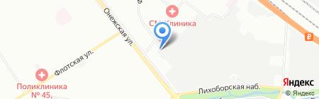 Рифт-М на карте Москвы