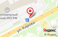 Схема проезда до компании Цветочный магазин в Подольске