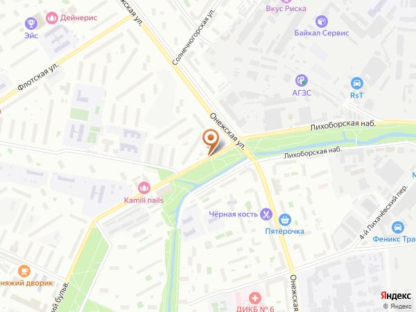 Остановка Лихоборская наб. в Москве
