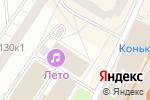 Схема проезда до компании Ханты-Мансийский Банк Открытие в Москве