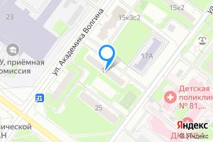 Двухкомнатная квартира в Москве м. Беляево, улица Академика Волгина, 17