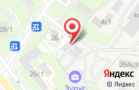 Схема проезда до компании Конмарк-ДМ в Москве