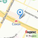 Займ-Экспресс на карте Москвы
