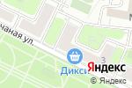 Схема проезда до компании Кнопка в Москве