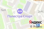 Схема проезда до компании Палестра в Москве