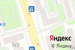 Схема проезда до компании Цветочный магазин на ул. Куусинена в Москве