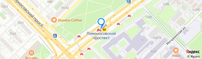метро Ломоносовский проспект
