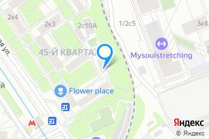 Однокомнатная квартира в Москве ул Новозаводская, д.2, корп.9