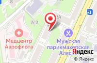 Схема проезда до компании Агпайп в Москве