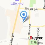Центр образования №1 на карте Щёкино