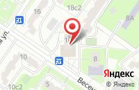 Схема проезда до компании Элнет Строй в Москве