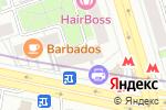 Схема проезда до компании Адамас в Москве