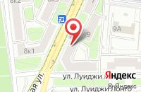 Схема проезда до компании Эхо-Импульс в Москве