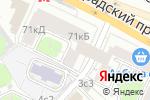 Схема проезда до компании Современный ломбард в Москве