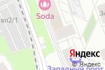 Схема проезда до компании ASP Свет в Москве