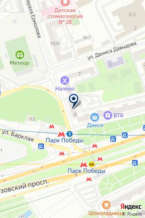 ИНФОРМАЦИОННАЯ СЛУЖБА ОБРАЗОВАНИЕ на карте Москвы