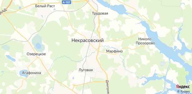 Сухарево на карте