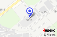 Схема проезда до компании ОПТОВАЯ БАЗА ИНТЕРВАЛ ХХI в Москве