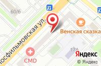 Схема проезда до компании Консонанс Строй в Москве