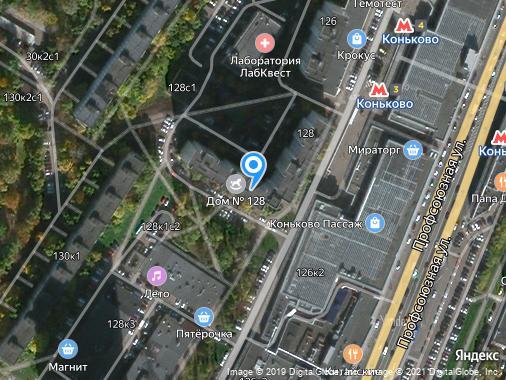 Продажа 2-комнатной квартиры, 57 м², Москва, улица Профсоюзная, 128