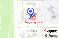 Схема проезда до компании АПТЕКА РУСИЧИ в Москве