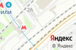 Схема проезда до компании Ремонтная мастерская на Новозаводской в Москве