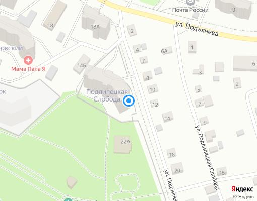 Управляющая компания «Сфера-М» на карте Дмитрова