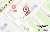 Схема проезда до компании Авиаэнергетика в Москве