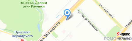 Трансаэро Тур на карте Москвы