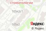 Схема проезда до компании РЕМСТРОЙТРЕСТ в Москве