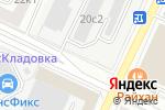 Схема проезда до компании ШевиПлюс в Москве