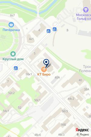 АВАРИЙНО-ДИСПЕТЧЕРСКАЯ СЛУЖБА ДЕЗ РАМЕНКИ на карте Москвы