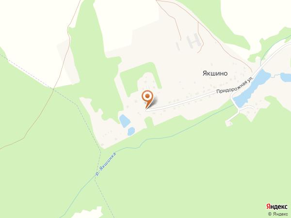 Остановка Якшино (заезд) (Московская область)