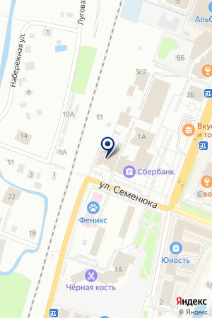 ТОРГОВО-СЕРВИСНАЯ ФИРМА СТУДИЯ ДОМ на карте Дмитрова