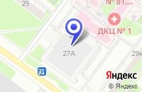 Схема проезда до компании АВТОШКОЛА ТАБУЛА РАСА в Москве