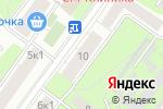 Схема проезда до компании Солнечногорская в Москве