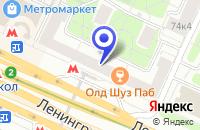 Схема проезда до компании МЕБЕЛЬНЫЙ МАГАЗИН ВИЛА ФОРТУНА в Москве