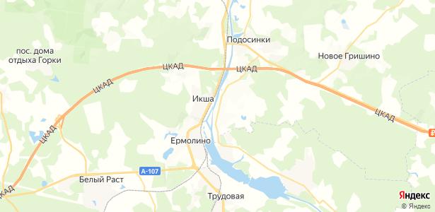 Игнатово на карте