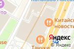 Схема проезда до компании Салон штор на Профсоюзной в Москве