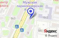 Схема проезда до компании МЕБЕЛЬНАЯ КОМПАНИЯ ИНТЕРЬЕР-СИТИ в Москве