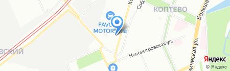 Банкомат Сбербанк России на карте Москвы
