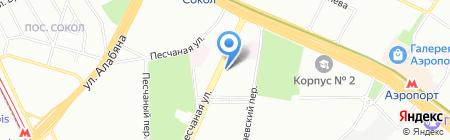 UTLab на карте Москвы