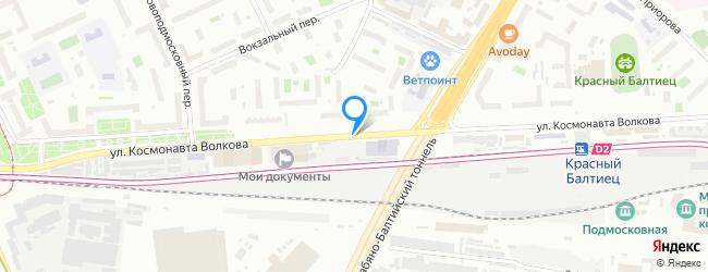 улица Космонавта Волкова