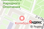 Схема проезда до компании Борисфен-Авиа в Москве