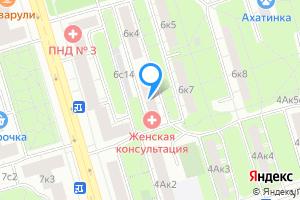 Снять однокомнатную квартиру в Москве м. Полежаевская, улица Куусинена, 6к6