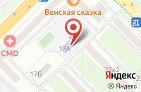 Схема проезда до компании Мединтерсервис в Москве