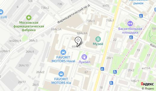 Seat FAVORIT MOTORS. Схема проезда в Москве