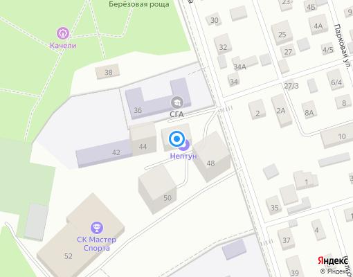 Жилищно-строительный кооператив «Березовая роща» на карте Дмитрова