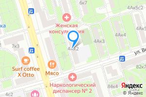 Сдается двухкомнатная квартира в Москве Куусинена 4А корпус2